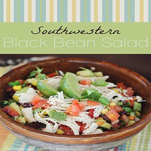 Rotisserie Chicken recipe #7: Southwestern Black Bean Salad. This Black Bean Salsa has a lot of options. When I'm looking for a healthy meal, I'll mix in some rotisserie chicken and grab a fork.