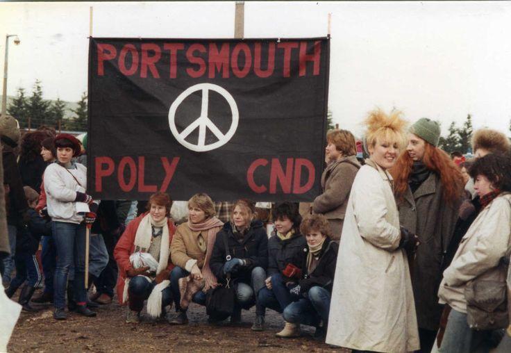Peace camp Greenham Common