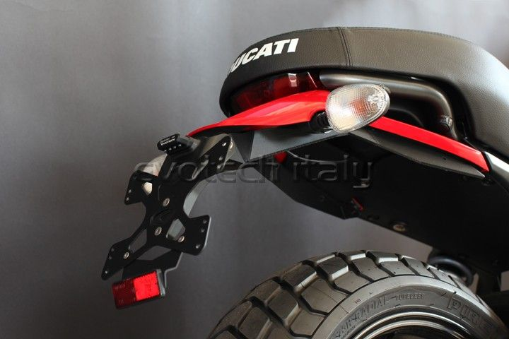 Evotech tail tidy for the new Ducati Scrambler