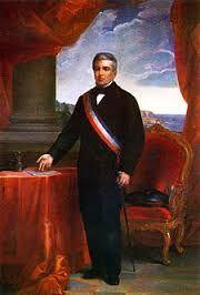 Manuel Montt Torres 1851 - 1861 Sexto Presidente de Chile