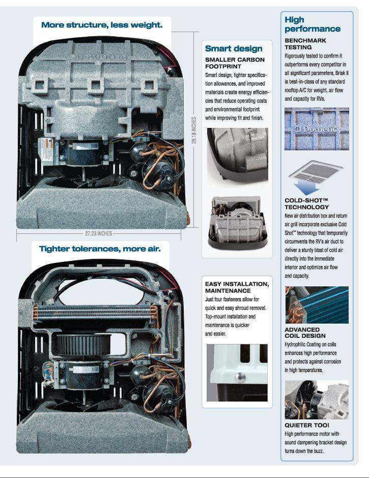 Dometic Brisk Air 2 Heat Pump Owners Manual
