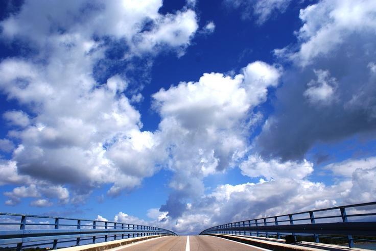 The bridge connecting the island with mainland, island Vir in Dalmatia, Croatia #croatia #vir #dalmatia #dalmacija #hrvatska