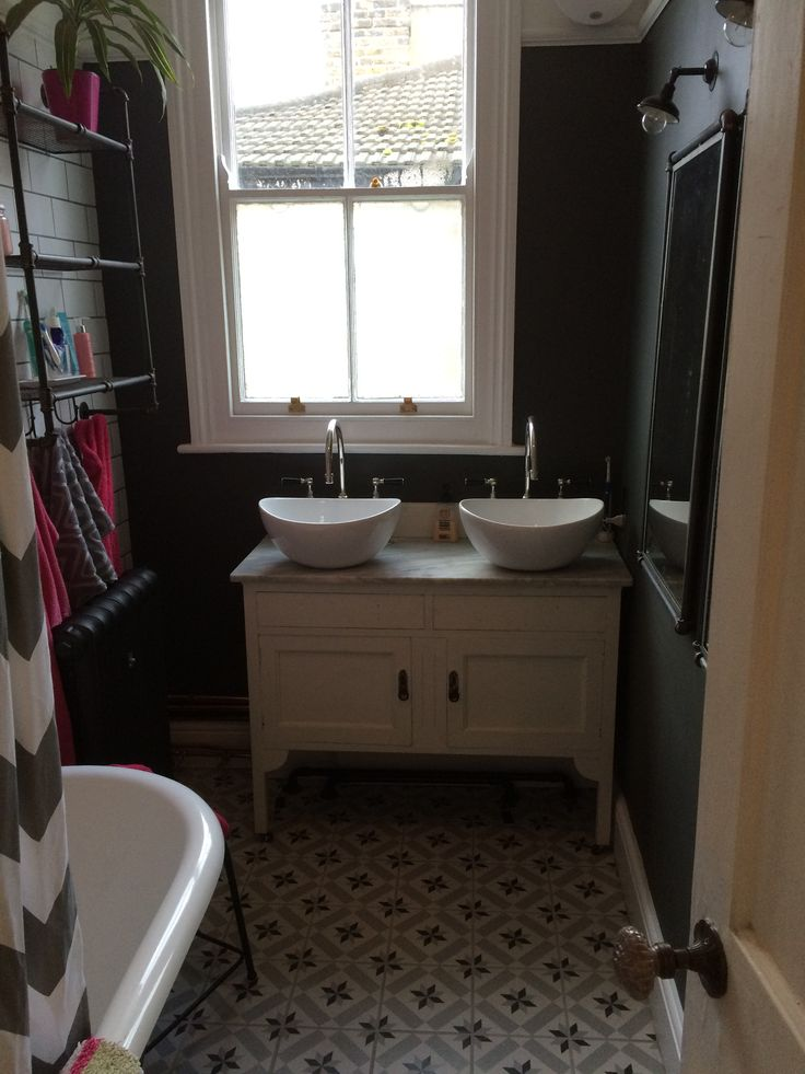 Contemporary and vintage bathroom, nunhead, London