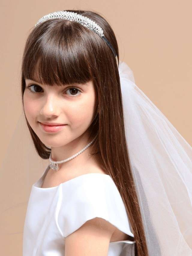 Resultado de imagen para flequillo para niña #peinadosconflequillo