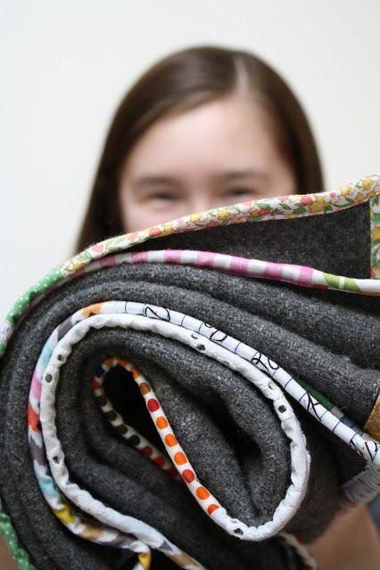 christina's: SCRAP 21 - blanket makeover