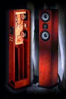JMLabs_Daline_6.1 Transmission Line Speakers