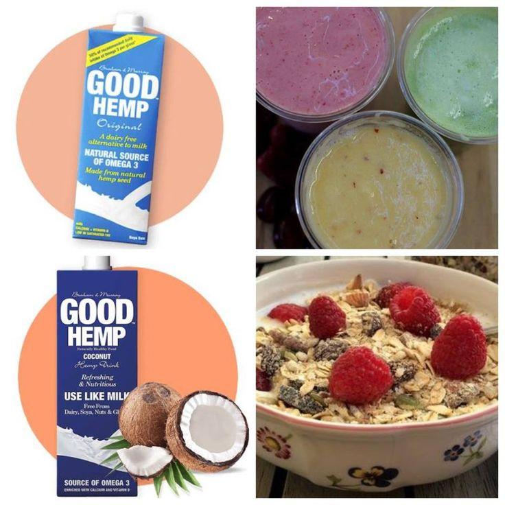 Śniadaniowe mleka roślinne - doskonałe na zimno, na upalny poranek. Trzeba tylko zdecydować czy konopne w koktajlu owocowym czy kokosowo-konopne w musli. Czy to czy to, dostaniesz tutaj>> https://pureveg.pl/category/weganski-nabial  Bardziej wartościowe niż krowie, wolne od laktozy pyszne mleko roślinne. Zawiera potas, fosfor, ryboflawinę, witaminy A, E, D2 i B12, magnez, cynk i kwas foliowy, kwasy Omega-3 i 6. #mlekokonopne #mlekokokosowokonopne #pureveg #weganskadieta #sklepweganski