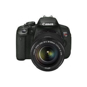 #8: Canon EOS REBEL T4i 18.0 MP CMOS Digital Camera with 18-135mm EF-S IS STM Lens: Digital Slr Camera, Digital Camera