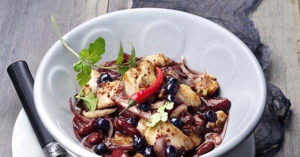 Chili de poulet aux myrtilles - Marie Claire Idées