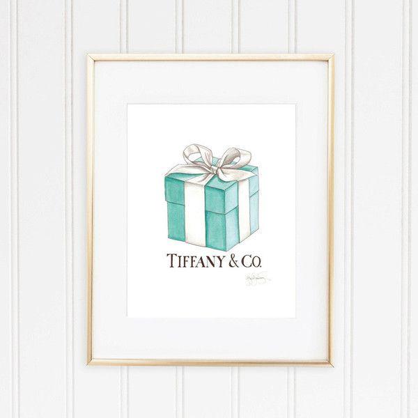 Tiffany Co. Box And Ribbon, Breakfast At Tiffany's