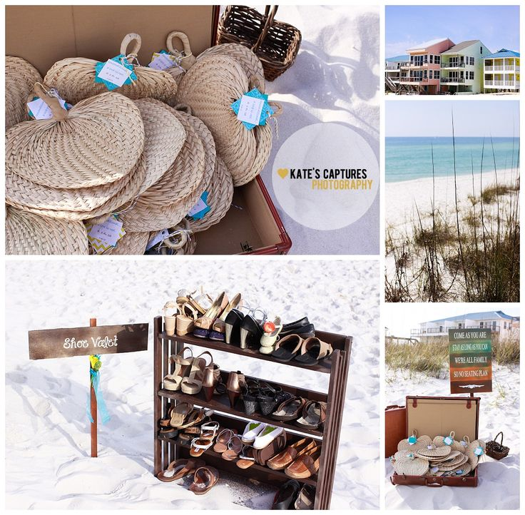 Beach Wedding Details // Kate's Captures Photography