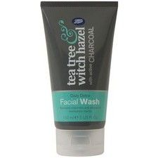 Boots Tea Tree and Witch Hazel Charcoal Facial Wash 150ml