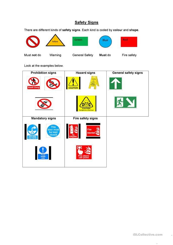 This is a photo of Free Printable Safety Signs Worksheets for travel safety