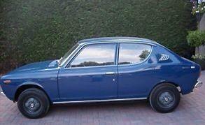 Datsun 100a 1972, the fourth car we own