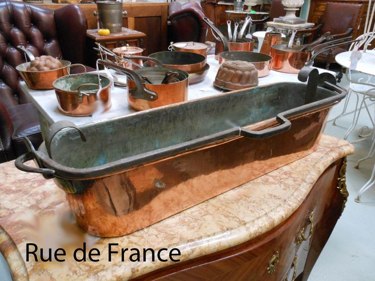 The French Kitchen copper chef cooking pans