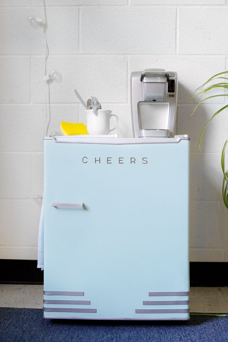 Home for the home marshall fridge - The Miniest Mini Fridge Makeover