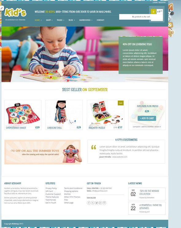 Top Free WordPress Ecommerce Themes to use in 2015 |