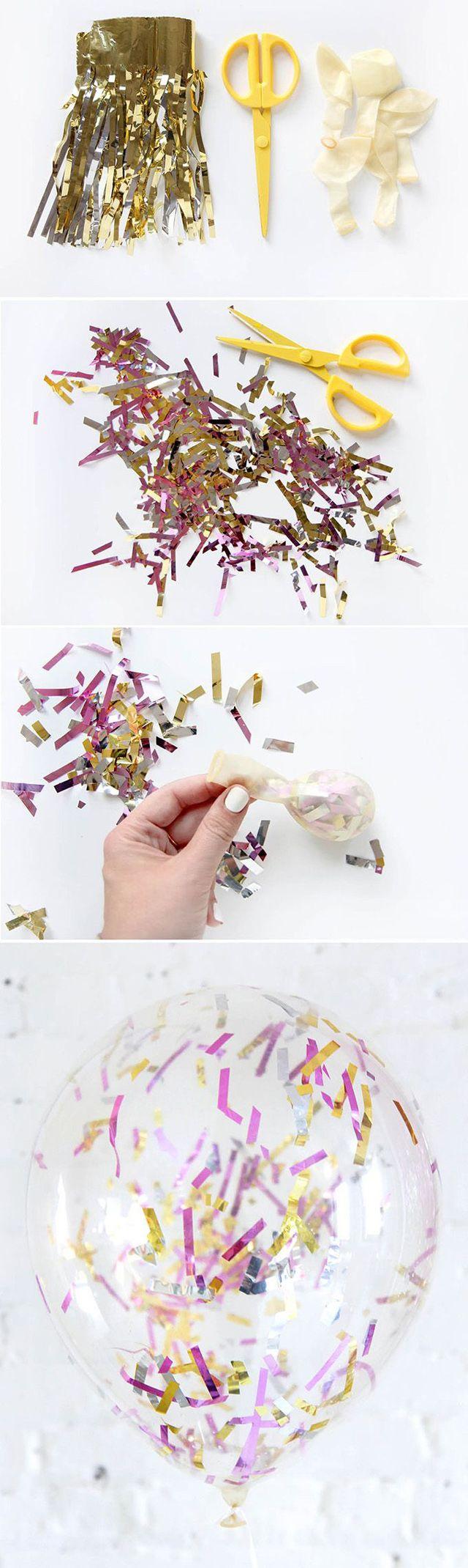Воздушные шары — неизменный яркий атрибут любой вечеринки или детского праздника. Но приходило ли вам в голову, какие еще возможности таит в себе этот простой предмет? Во-первых, шарик может остаться шариком, но стать необычным и единственным в своем роде. Немного конфетти, цветной бумаги, красок — и шарик уже готов претендовать на звание уникального украшения праздника или забавного дополнения к подарку.