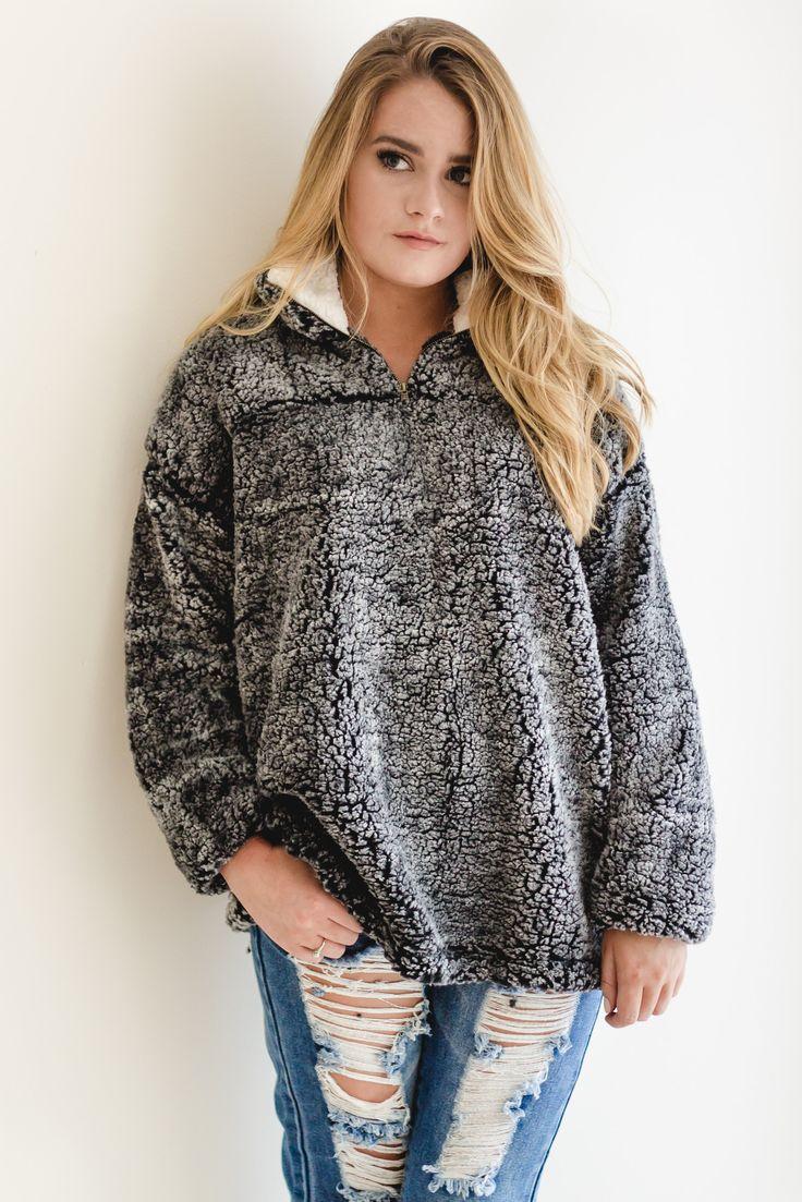 Alpine Plush Pullover- Pre- Order