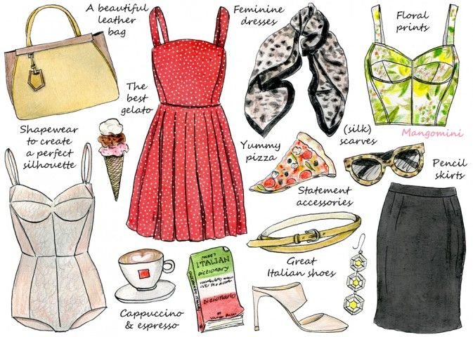 How To Do Italian Style by Cindy Mangomini // pizza and gelato are essential accessories. Thankfully I have them on hand.