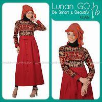 busana cantik faira: Baju muslim batik terbaru