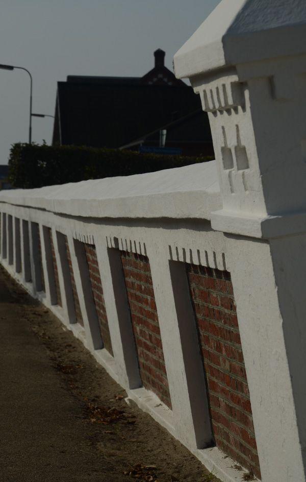 Historisk kirkemur der viser en kærlighed for detaljen – restaurering af kirkemur, Nordby Kirke, Fanø