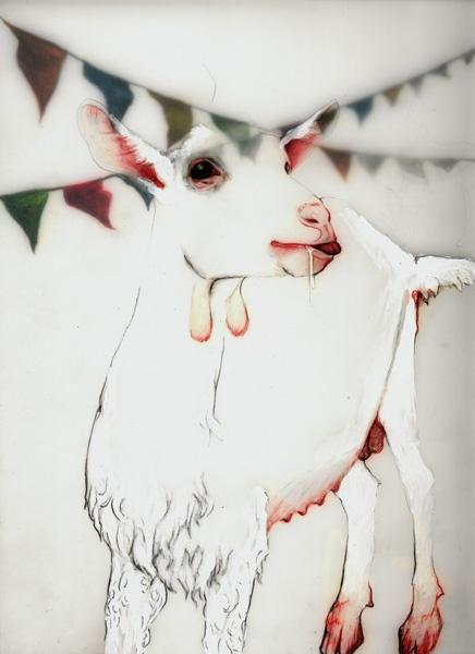 Belga Series, 2003 - Goat
