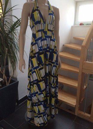 Kaufe meinen Artikel bei #Kleiderkreisel http://www.kleiderkreisel.de/damenmode/maxis/151421499-langes-stylisches-neckholder-kleid