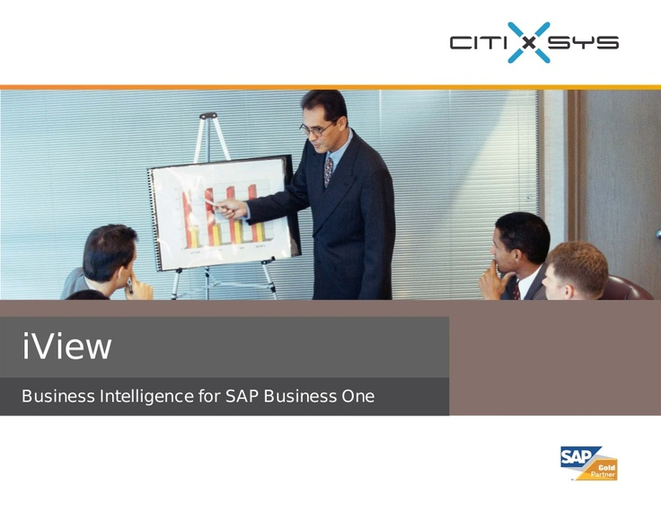 iview-business-intelligence-for-sap-business-one by Blue Ocean Systems Pte Ltd via Slideshare