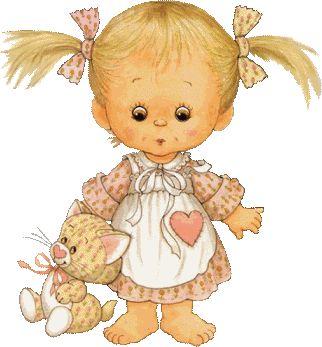 Красивые детские  картинки  девочек фото 15
