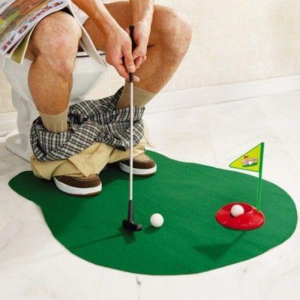 Juego de Golf para el Retrete