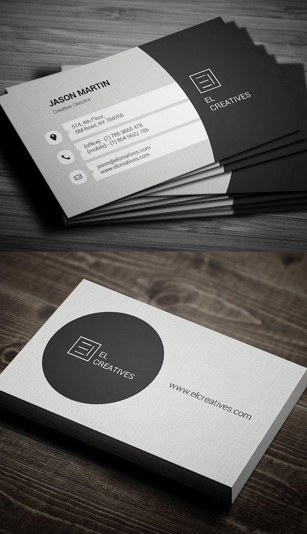 Best 25+ Modern business cards ideas on Pinterest | Business card ...