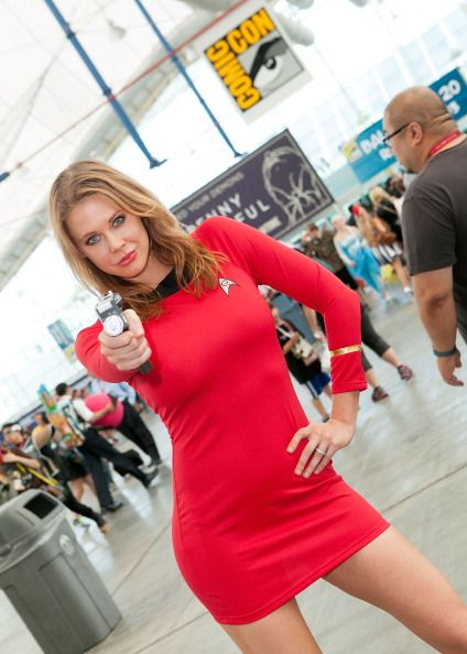Maitland Ward during day 2 of Comic-Con International 2014 on July 25, 2014 in San Diego, California.