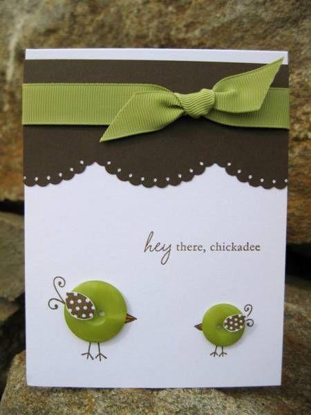 Love those button birds