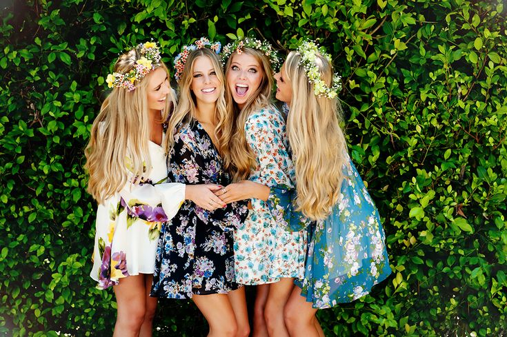Flower Power ~ Secret Surprise Summer 2014 #girls #friends #mumu #flower #crown #headpiece