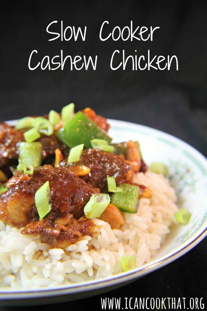 Slow Cooker Cashew Chicken | Fun Foods | Pinterest ...