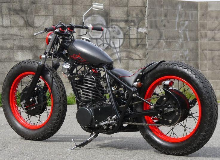 Yamaha SR XT custom bobber
