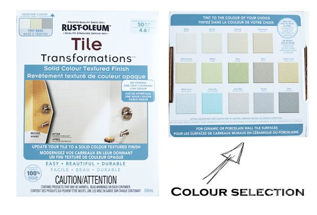 UPDATE: Hey, all! I have been getting a lot of feedback that many of you cannot find this product at your local hardware stores. I have personally contacted Rust-Oleum and unfortunately they have discontinued this Tile Transformation Kit in most stores. For those interested, they have informed me about another similar product called Specialty Tub & Tile Refreshing kit —> Please note, I did not test this kit out, just passing the info along! Are you curious as to how this tile. . . can ...