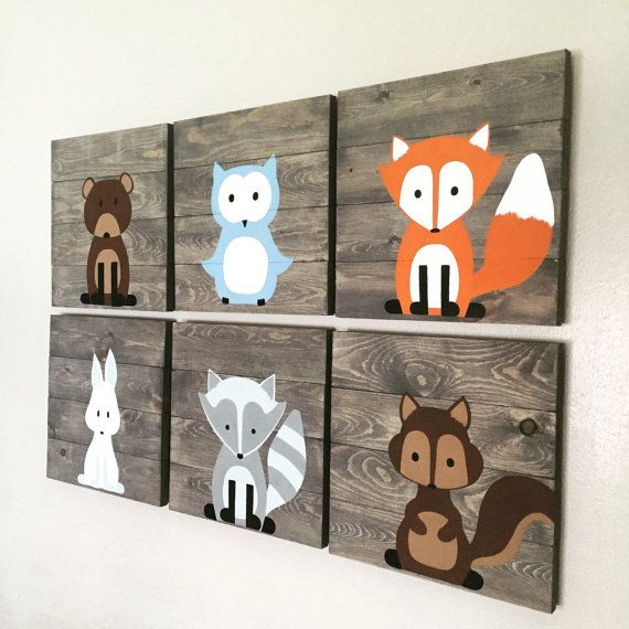 Are you looking for the perfect woodland decor? Well look no further this is a set of 6 woodland signs. You can choose whichever 6 you would