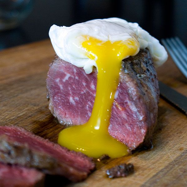Rich, buttery filet mignon paired simply with a beautiful poached egg. This is the best filet mignon recipe you'll ever taste