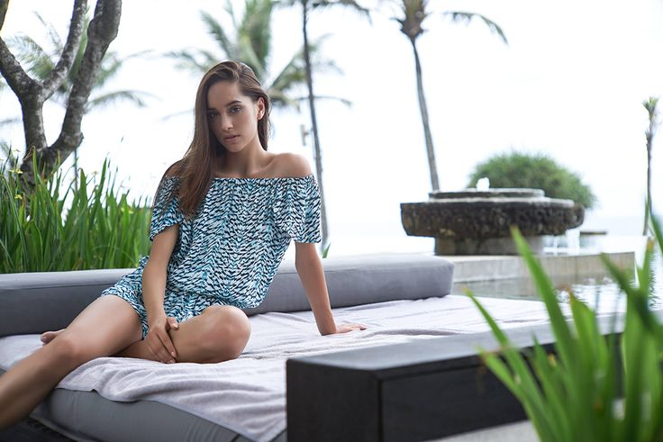 Cap sleeve Playsuit // #beachgold #beachgoldbali #bali #resortwear #fashion #luxury #resortclothing