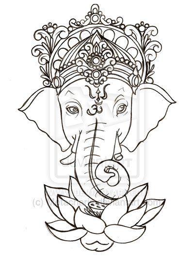 Lord Ganesha Tattoo Design Ideas