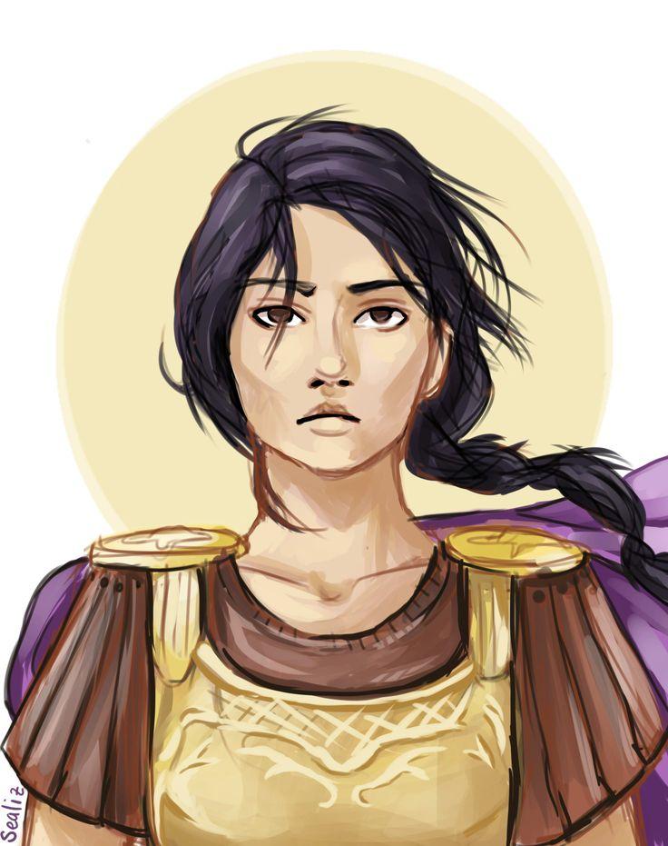 Reyna Avila Ramírez-Arellano, Praetor of the Twelfth Legion | art by sealiz