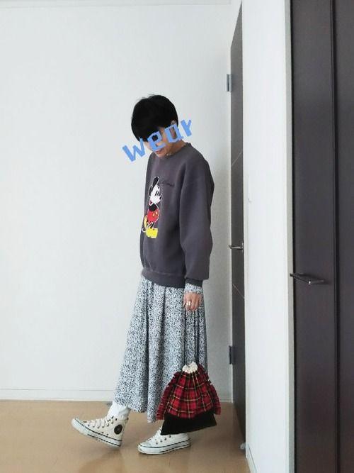 色めがね guのワンピースを使ったコーディネート wear ファッションコーディネート ワンピース おつ