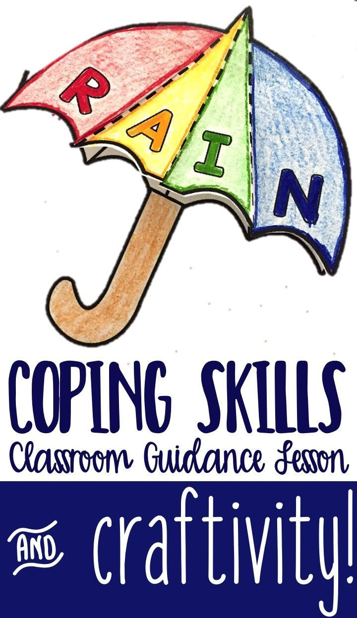 Coping skills classroom guidance lesson for upper elementary school counseling. Students practice progressive muscle relaxation, deep breathing, and learn about other coping skills they can use in tough situations.