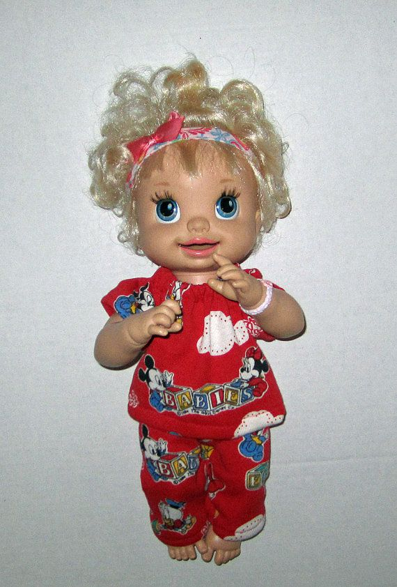 168 best images about Baby Alive Doll Clothes on Pinterest