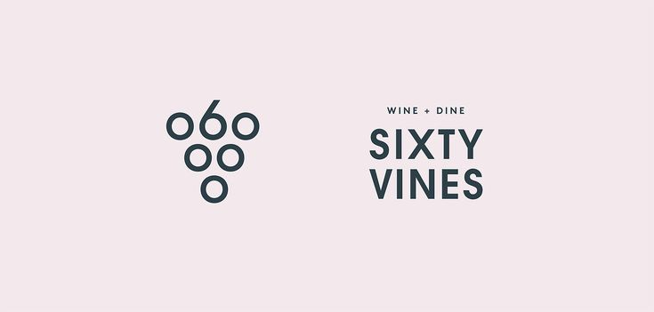 Sixty Vines  Texas-based design studio Tractorbeam has created a brand identity for Sixty Vines, a wine bar located in North Dallas. The brand voice is intentionally self-aware — witty and slightly deprecating in regards to wine culture. Pops of neon...
