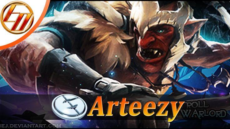 Arteezy  Troll Warlord  Dota 2 Pro Gameplay | Evil Geniuses