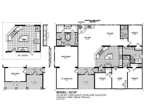 Oak creek homes model 3377
