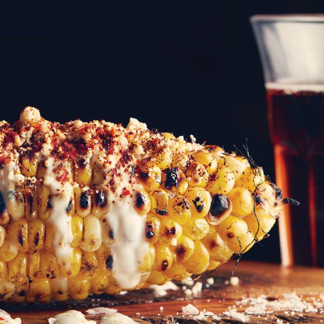 Harvest Corn Chowder With Chorizo Recipe — Dishmaps